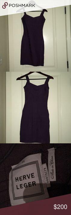 Herve Leger dress Herve Leger dress. Great used condition. Herve Leger Dresses Mini