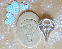 Hot Air Balloon 3D Printed Cookie Cutter by PrintandFlourish on Etsy