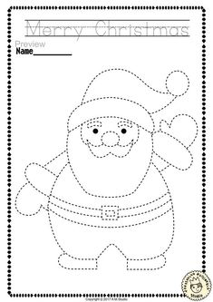 """Help your child develop their pre-writing and fine motor skills with «Christmas Trace and Color Pages"""" This .pdf file includes 14 Christmas themed Tracing and Coloring Worksheets. This is a perfect activity for your young artists. Christmas Worksheets Kindergarten, Coloring Worksheets For Kindergarten, Preschool Christmas, Christmas Activities, Christmas Crafts For Kids, Christmas Colors, Rustic Christmas, Christmas Christmas, Craft Activities For Kids"""