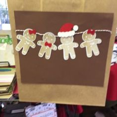 Stampin' Up! CAS Christmas card with Cookie Cutter Christmas stamp set  and designed by Demo Pamela Sadler. See more cards at stampinkrose.com #stampinkpinkrose #etsycardstrulyheart