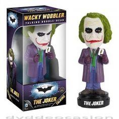 FIGURA CABEZON BATMAN DARK KNIGHT - JOKER … Precio de Ocasión, Como si el retrato de Heath Ledger de El Joker de la película The Dark Knight no fuera lo suficientemente espeluznante, llega este