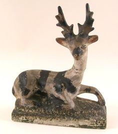 19th century chalk deer