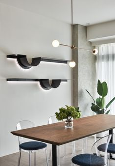 Rack Design, Shelf Design, Dining Furniture, Furniture Design, Wall Unit Designs, Regal Design, White Interior Design, Luxury Home Decor, Dining Room Design