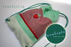 Turnbeutel. It's in German, but the bag is  so cute!