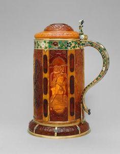 Lidded Stein  --  Circa 1625  --  Kunsthistorisches Museum, Vienna