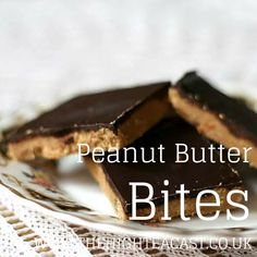 Sweet and salty no-bake tray bake. Chocolate Peanut Butter Bites are delicious sweet and salty snack perfect for accompanying your tea or coffee.
