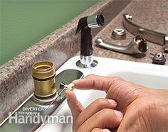 How To Fix A Leaking Sink Sprayer | Pinterest | Sinks, Apartment Ideas And  House