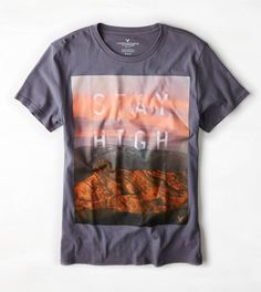 AEO Stay High Graphic T-Shirt