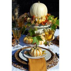 Fall Table Setting Ideas - The Cottage Market