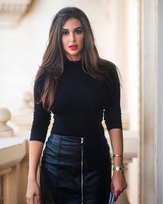 ☀️ -- 📸: @yousseftayehphotography Beautiful Arab Women, Europe Outfits, Egyptian Actress, Cute Girl Photo, Boss Lady, Indian Beauty, Girl Photos, Leather Skirt, Street Style