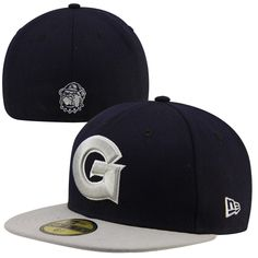 ddcea29f4ba New Era Georgetown Hoyas 2-Tone 59FIFTY Fitted Hat - Navy Blue
