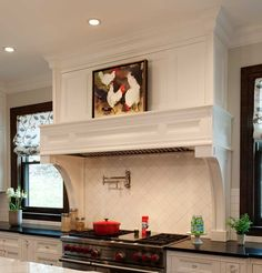 A Custom Range Hood Made By Crown Point Cabinetry Will Be The Perfect  Complement For The Kitchen In Your Home