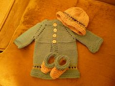 Ravelry: Basic Newborn Cardigan with Matching Hat by Angela Humphrey - *pattern
