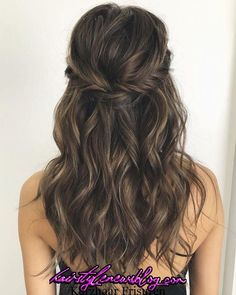 43 Gorgeous Half Up Half Down Hairstyles , partial updo hairstyle , braid half . - 43 Gorgeous Half Up Half Down Hairstyles , partial updo hairstyle , braid half up half down hairst - Wedding Hair Down, Bridal Hair Half Up Half Down, Wedding Hairstyles Half Up Half Down, Bridal Hair Down, Bridal Hair Half Up Medium, Long Wedding Hairstyles, Hairstyles For Bridesmaids, Curly Half Up Half Down, Long Bridal Hair