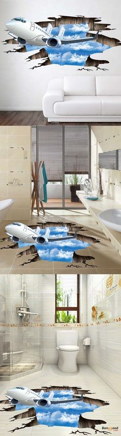 US$ 3.99+ Free shipping.Like A Makeup Like A Magic. The New 3D Stereo To Decorate The Painting. Can be used installed on the wall at your living room, bathroom. It's better to installed on the floor. Always make your house more fashion and delicate.it's so cool, stimulated and interesting! #homestereoinstallation