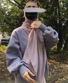 Muslim Fashion, Modest Fashion, Hijab Fashion, Fashion Outfits, Muslim Girls, Muslim Women, Islamic Girl, Casual Hijab Outfit, Modest Wear