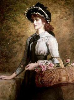 Sweet Emma Moreland by John Everett Millais