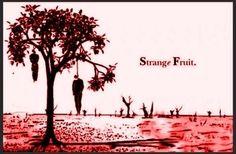 ] Southern trees bear #strangefruit [ Les arbres du Sud portent un fruit étrange : des corps noirs qui se balancent... C...