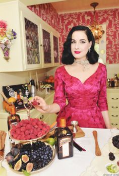 Mmm.  Dita has good stuff in her kitchen.  Like Cointreau and those beautiful figs.