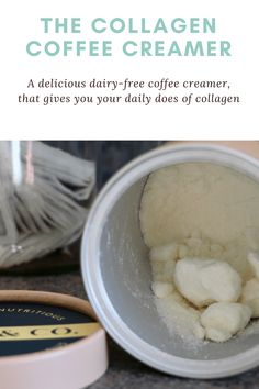 A full review of the popular Dose & Co collagen coffee creamer promoted by Khloe Kardashian. Does it actually work and what results did I get? Collagen Coffee, Coffee Creamer, Khloe Kardashian, Delish, Mint, Nutrition, Facts, Popular, Easy