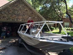 awesome boat names Duck Hunting Blinds, Duck Hunting Boat, Duck Boat Blind, John Boats, Boat Blinds, Sailing Gifts, Waterfowl Hunting, Fishing Knots, Boat Stuff