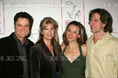 Opening night party for Donny Osmond's return to the 'Beauty and the Beast' musical, New York, America - 24 Sep 2006 Donny Osmond, Debbie Osmond, Sarah Uriarte Berry and guest 24 Sep 2006