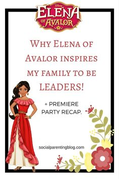 Elena of Avalor Blog Post Pin