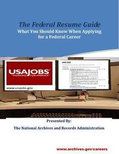 Federal Resume Guide   45 Best Federal Resume Images Resume Cv Professional Development