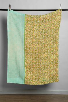 Anchal X Urban Renewal Green Dreams Quilt - Urban Outfitters