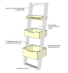 http://www.ana-white.com/2013/04/plans/little-sloan-leaning-bookshelf