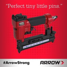 We couldn't have said it better ourselves, @rafiber. Curious about our Pneumatic Pin Nailer? Learn more by going to arrowfastener.com/tool/pt23g