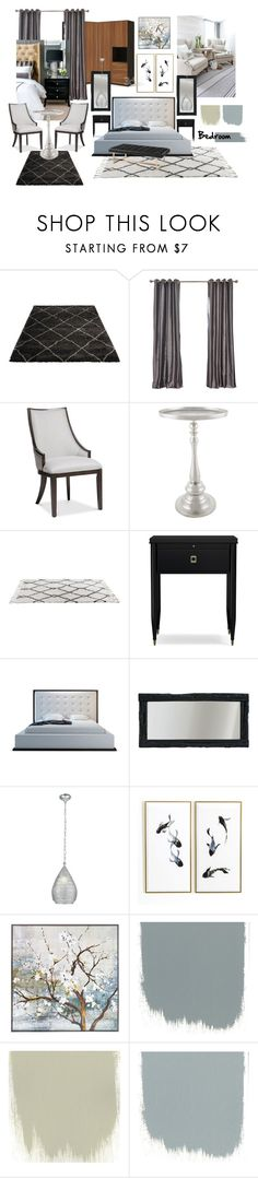 Bedroom by tayeesha on Polyvore featuring interior, interiors, interior design, home, home decor, interior decorating, Williams-Sonoma, New View and bedroom