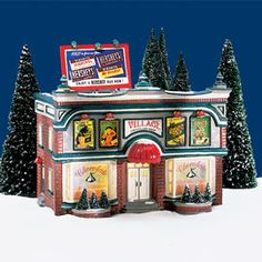 "Department 56: Products - ""Hershey's™ Chocolate Shop"" - View Lighted Buildings"