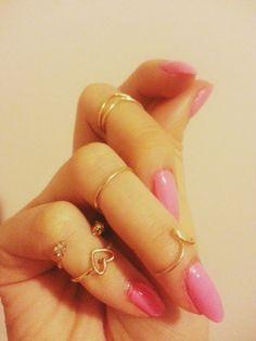 Simple Midi/Knuckle Rings Diy