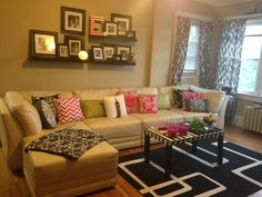 Small spaces living room #apartmentliving