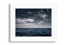 RJW, White Sailboat on Sea