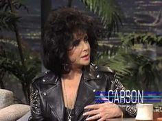 Johnny Carson and Elizabeth Taylor on Marriage on Johnny Carson's Tonight Show - YouTube