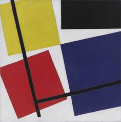 Simultaneous Counter-Composition, Theo van Doesburg, 1929