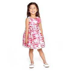 Carolina Floral Stripe Dress