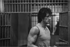 A gallery of First Blood publicity stills and other photos. Featuring Sylvester Stallone, Brian Dennehy, Richard Crenna, Jack Starrett and others. Stallone Movies, Brian Dennehy, Silvester Stallone, 1980s Films, The Fall Guy, Rambo, First Blood, Rocky Balboa, Film Director