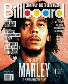 Billboard Magazine. For all music lovers, i gather you to come and read. Interesting background image on here. Something I've noticed and liked is that on magazine covers with peoples faces on it, there is a typographic box around there faces.