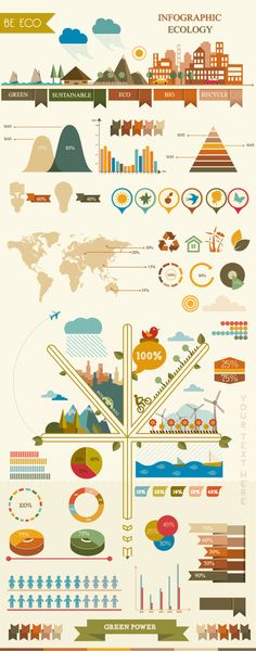 Vector infographic ecology by ~Desenart on deviantART