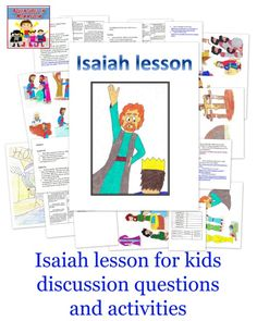 Isaiah lesson for kids