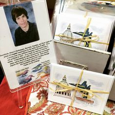 Ryan Kupfer's amazing cards! He is a tremendous artist, despite hardships he has overcome in his young life. We love supporting all our locals! Find them HERE.