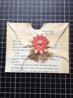 Resultado de imagen de ideas for junk journal Junk Journal, Art Journal Pages, Journal Cards, Art Journals, Handmade Journals, Handmade Books, Vintage Journals, Altered Books, Altered Art