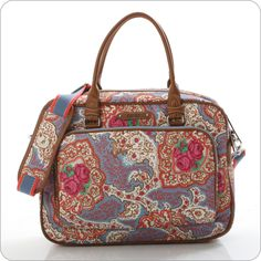 This Oilily bag is perfect for bringing my laptop home from the office.