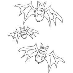 Murciélagos página para colorear