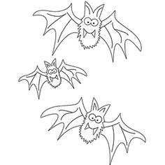 Some of these free Halloween coloring pages from Parents magazine would make cute embroidered on tea towels or pillow cases.