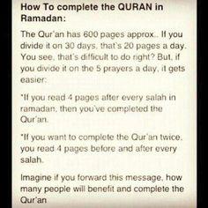 Al-Quran in Ramadhan.