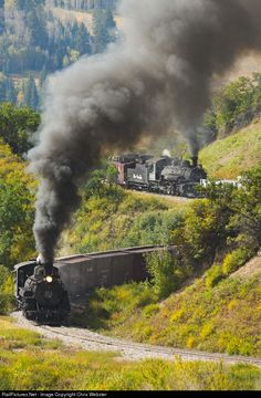 RailPictures.Net Photo: 484 Cumbres & Toltec Scenic Railroad Steam 2-8-2 at Chama, New Mexico by Chris Webster
